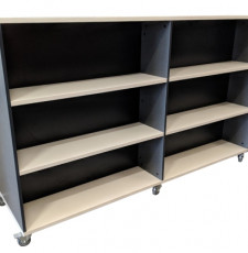 Straight Library Shelving