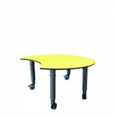 Podz Crescent Table Height Adjustable