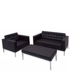 Venus Lounge Chair Black