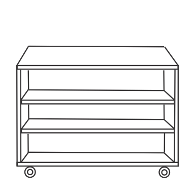 3 Shelf Unit