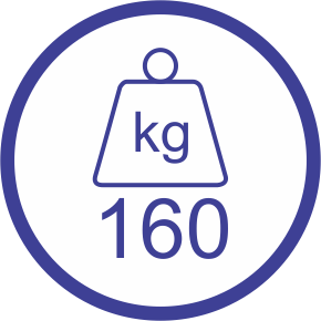 160kg Weight Capacity