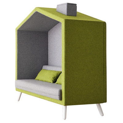 Cubby Acoustic Booth Lounge