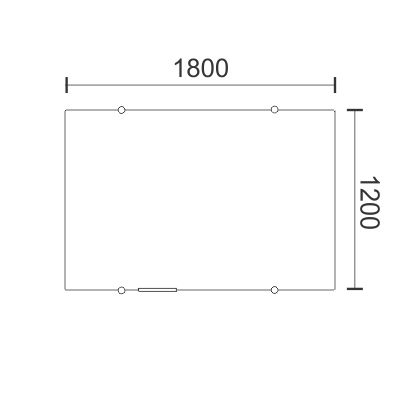 1200H x 1800W